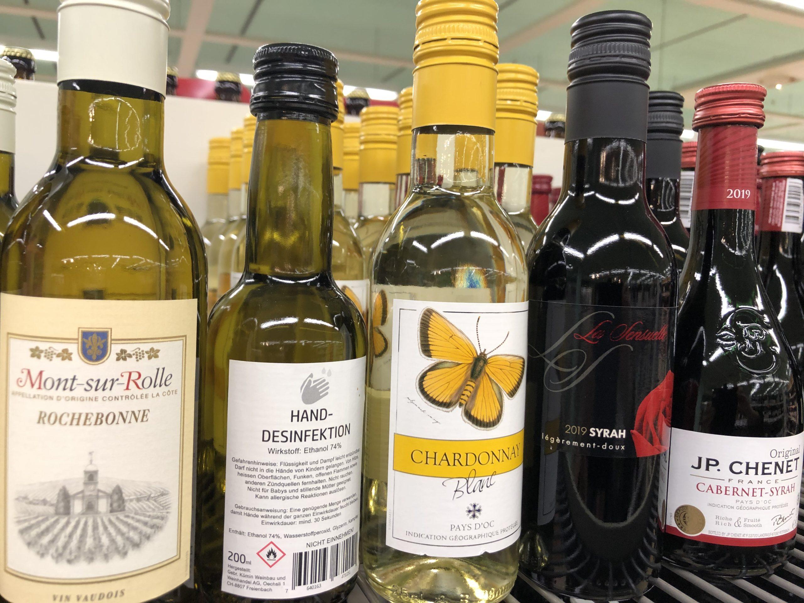 Chemikalien in Getränkeflaschen